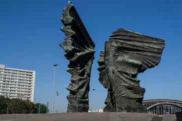 Obraz Pomnik Powstańców Śląskich Katowice - fototapety do salonu