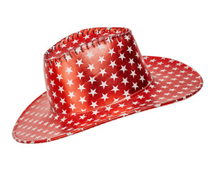 Red hat with white stars