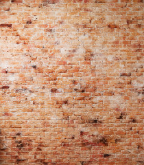 Printed roller blinds Brick wall Red old brick wall