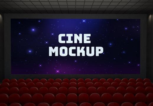 Movie Theater Screen Mockup