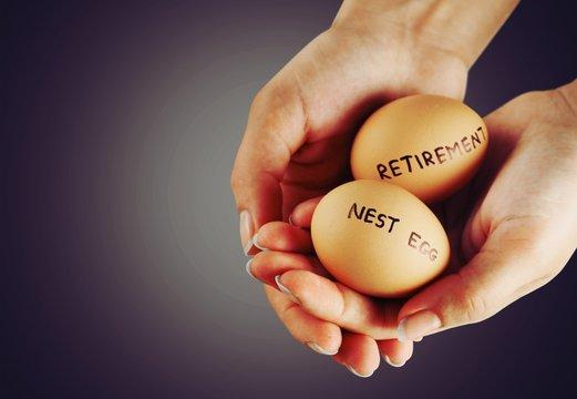 Investment retirement pension nest egg eggs planning protection