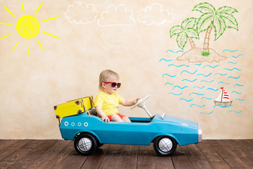 .Summer vacation and travel concept