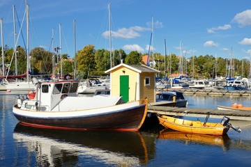 Morning in the marina, Nynäshamn - Sweden