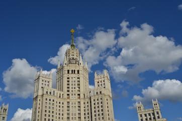 MOSCOW TOWER FACADE