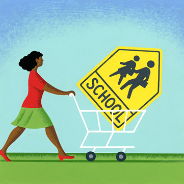 SHOPPING FOR A SCHOOL