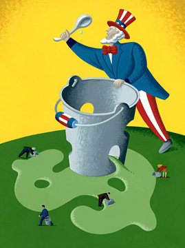 LEAKY BUCKET OF THE US TREASURY