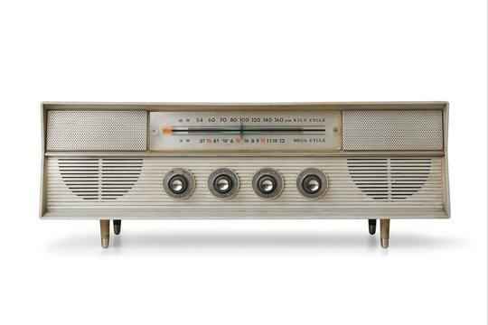 アンティークなラジオ