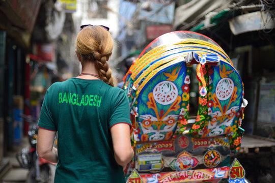 Tourist in Bangladesh