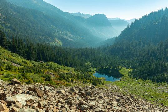 Source Lake in Washington, USA