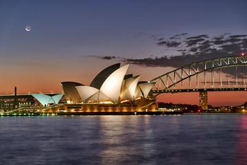 Canvas Prints Sydney Opera House Sydney Australia