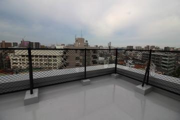 分譲マンションの屋上防水と東京の景色