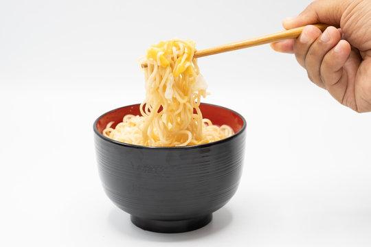 bowl of instant noodles