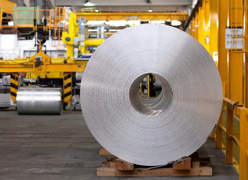 aluminum coil of continuous caster