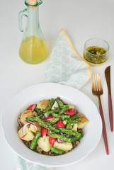 Szparagi i warzywa