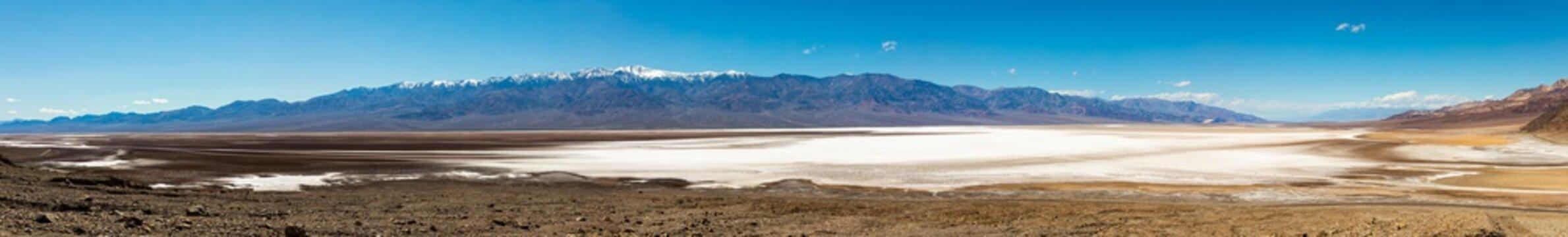 Salt-Desert at Death Valley Bad Water Basin