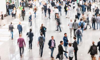 Fototapete - crowd of people