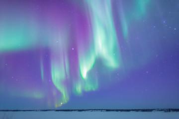 Zelfklevend Fotobehang Noorderlicht オーロラ