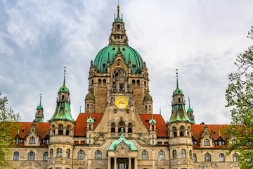 New town hall in Hannover, Germany