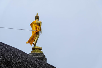 Buddha statue on the mountain