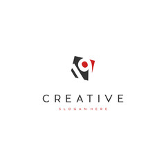 Creative Number 19 Logo Design Template