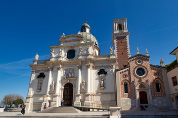 The church of St. Mary of Mount Berico. Vicenza, Italy