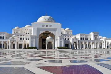 Canvas Prints Abu Dhabi Palace of Qasr al-Watan (the Palace of the nation) inside in Abu Dhabi city in Arab Emirates