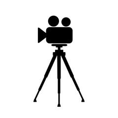 Fototapeta kamera na statwie ikona obraz