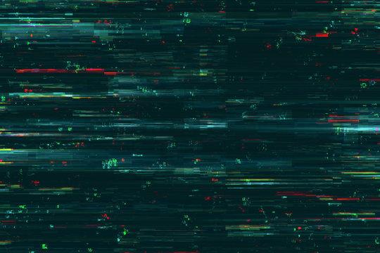 Creative glitch background