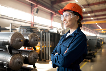 Young female technician