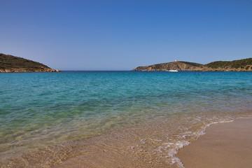 Spiaggia di Chia in Sardegna