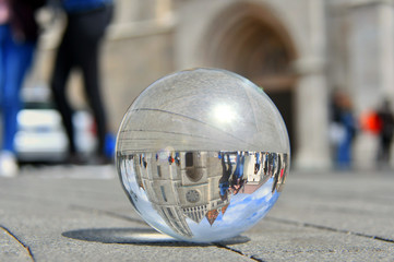 photo sphere Matthias Budai church