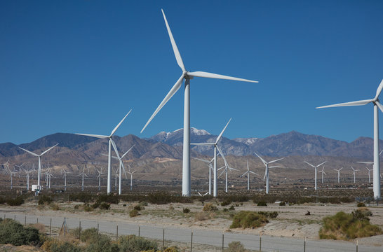 wind power plant in texas