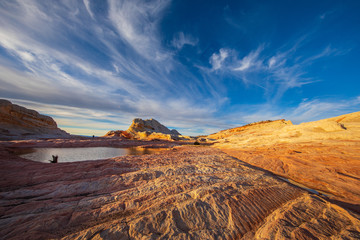 Wall Mural - White Pocket, Vermilion Cliffs National Monument, USA