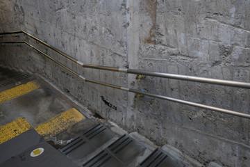 Wall Murals Stairs fair‐faced concrete staircase