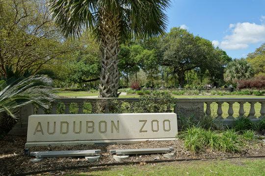 New Orleans Audubon Park Zoo