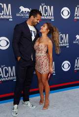 54th Academy of Country Music Awards – Arrivals – Las Vegas, Nevada, U.S., April 7, 2019 – Eric Decker and Jessie James Decker