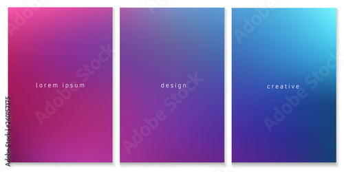 Basic Rgbblurred Gradient Background For Template Brochure Flyer