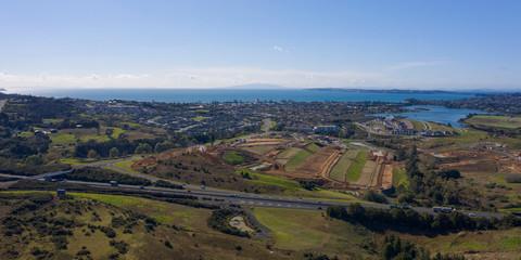 Infrastructure for new coastal housing development
