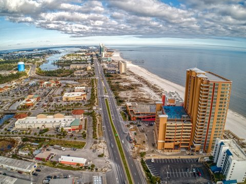 Orange Beach is a Tourist Destination and Beach Town in Far Eastern Alabama on the Florida Border