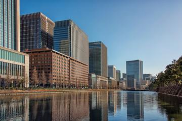 Leinwandbilder - Tokyo city in daytime, Japan