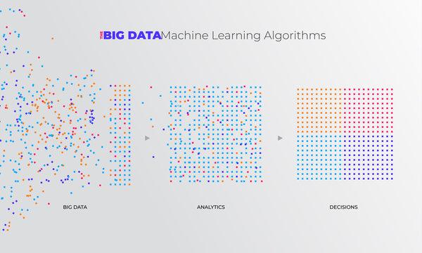 Illustrations Concept Big Data Analytics