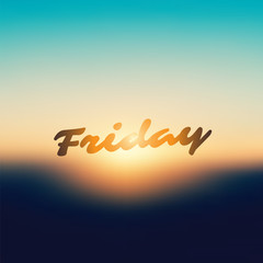 Friday - Banner Design