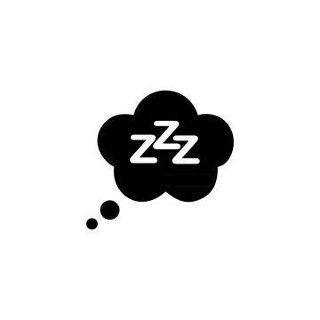 Sleep simple icon