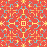 Abstract Seamless Pattern The Color Palette Coral Reef Soft Warm