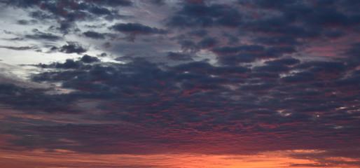 Early Oklahoma Morning Orange and Blue Sky Overlay