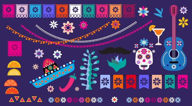 Mexican set elements 2
