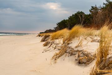 Łeba- krajobraz plaży