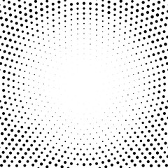 Halftone abstract dotted backgrounds for your design. Halftone effect vector pattern. Circle dots isolated on the white background.Circular gradient texture.