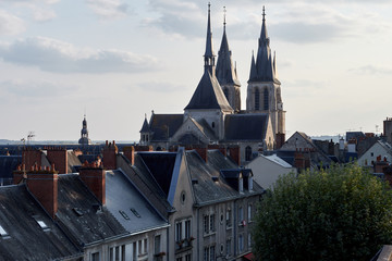Blois, old town in France