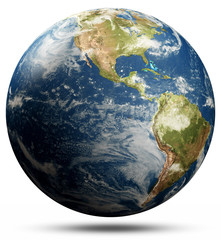 Wall Mural - Planet Earth map - America
